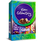 Cadbury Celebrations Assorted Chocolate Gift Pack, 64.2g (Pack of 10)