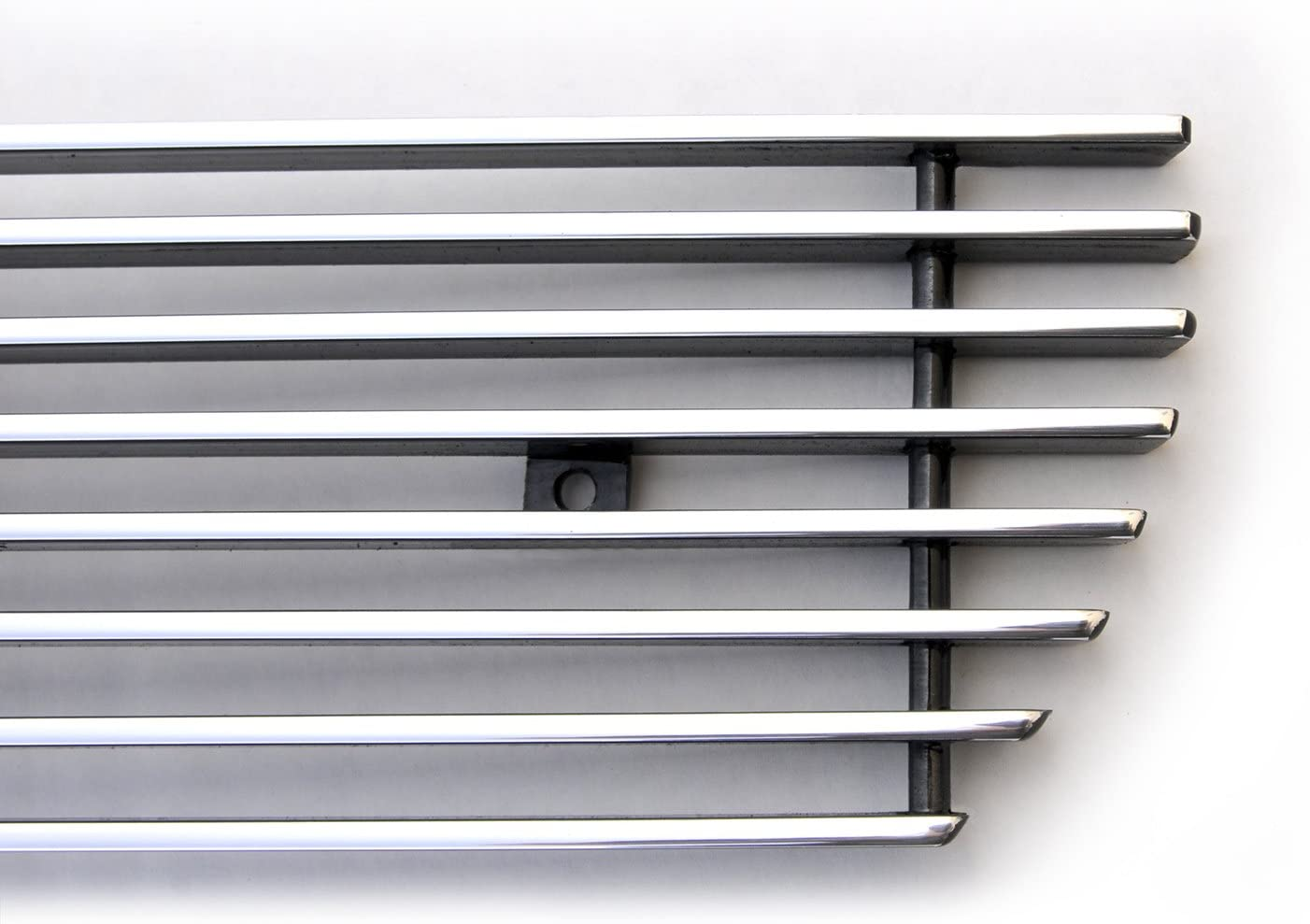T-Rex 25206 Horizontal Aluminum Polished Finish Billet Bumper Grille Bolt-on for GMC Sierra 1500