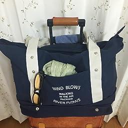 Amazon Co Jp Ihappiness キャリーオンバッグ 旅行バッグ スーツケース装着可能 ピンク 服 ファッション小物