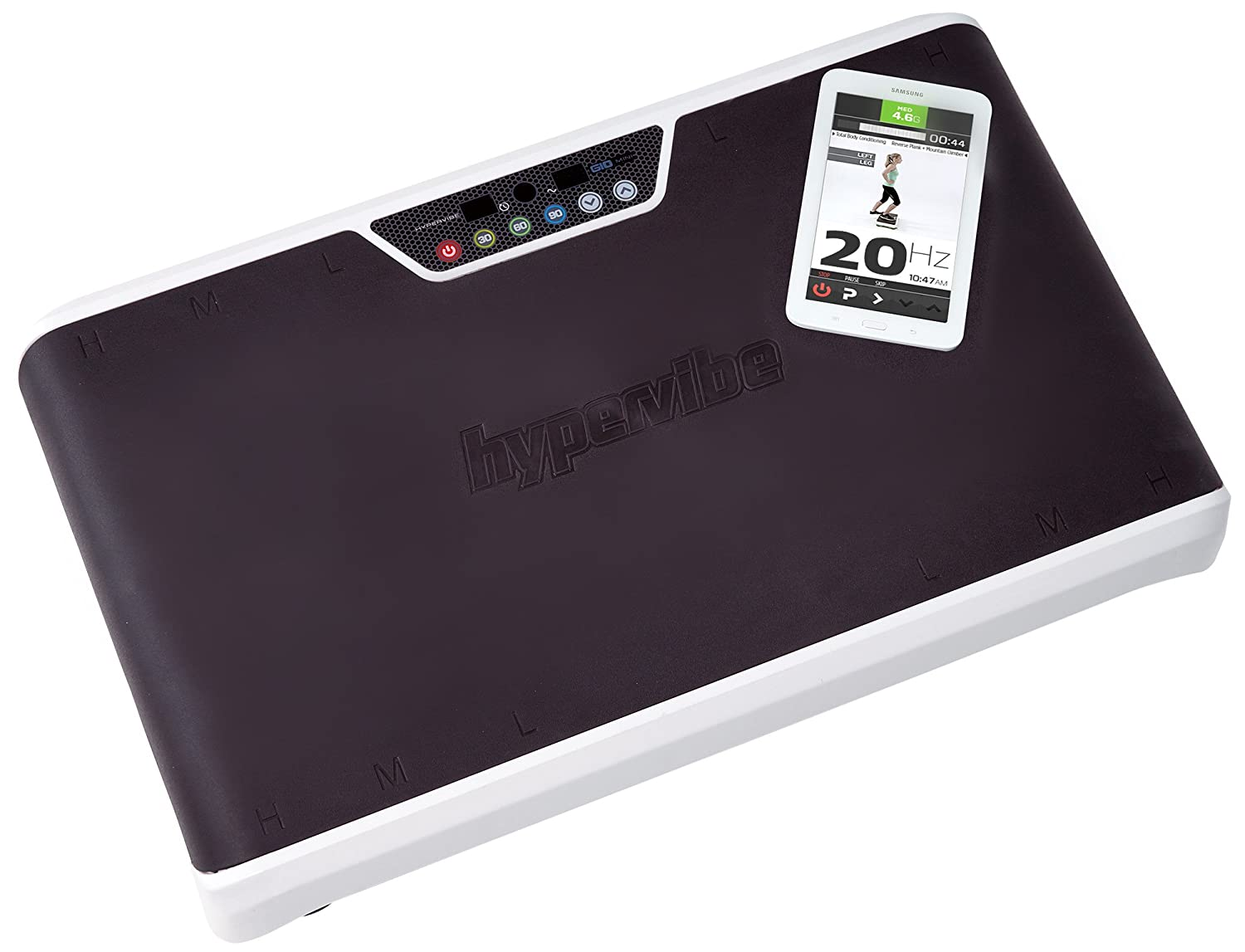 Hypervibe G-10 Whole Body Vibration Machine with Mobile App: The Best Whole  Body Vibration Plate on The Market! Great Power Plate Vibration Therapy
