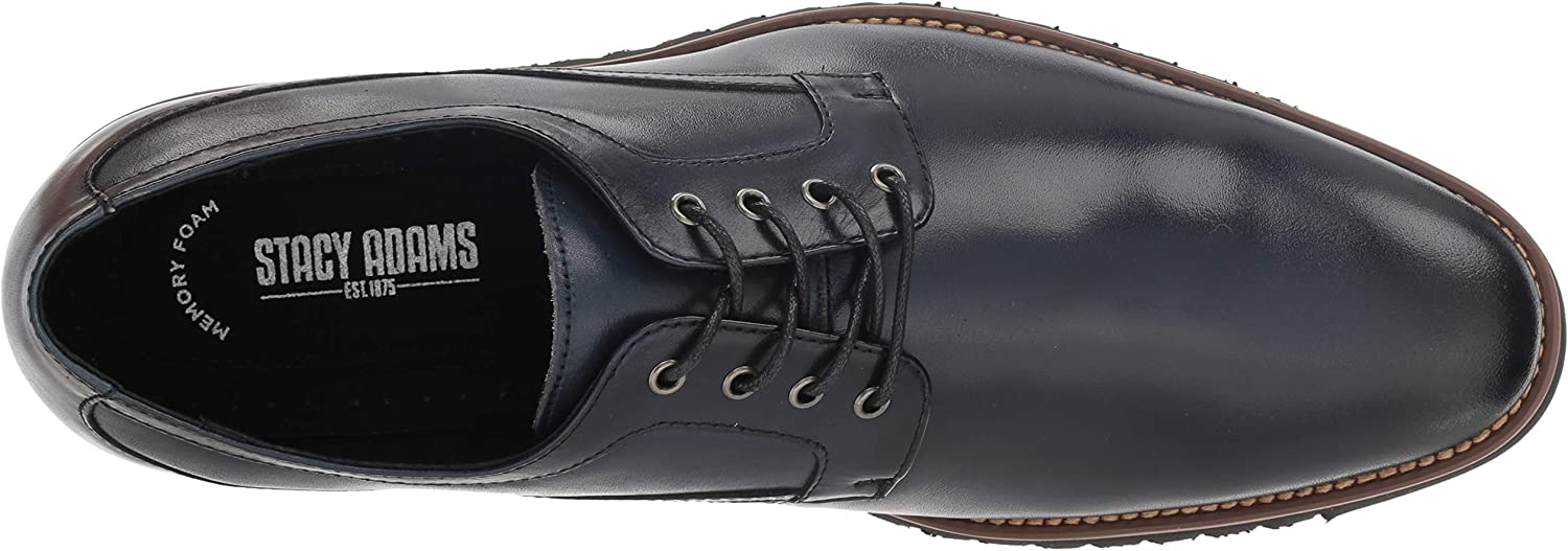 Stacy Adams Men's Barclay Lace-up Oxford Indigo