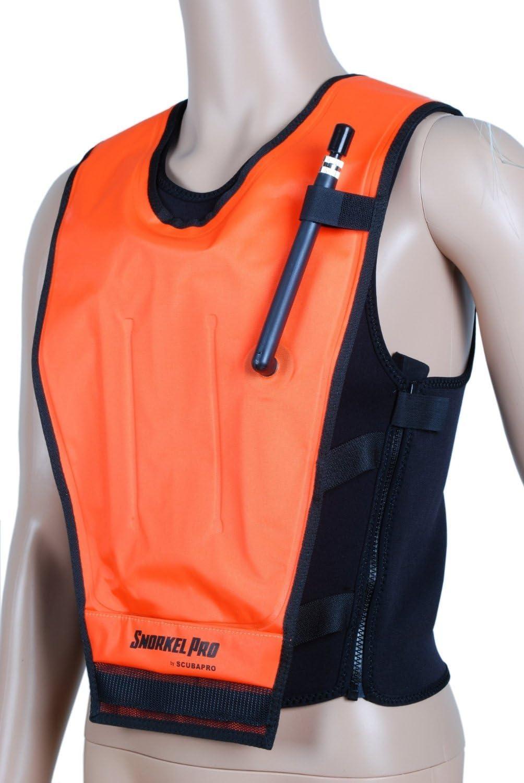 SCUBAPRO Cruiser Skin Dive Safety Snorkeling Vest Orange Medium