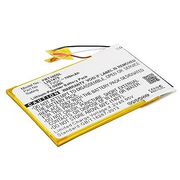 subtel® Batería Premium Compatible con Sony PRS-T1, PRS-T2, PRS-T3 ...