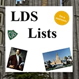 Lists for Mormons (LDS)