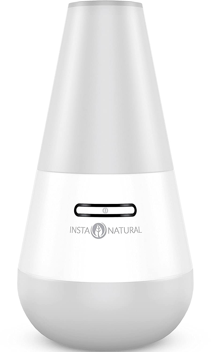InstaNatural Essential Oil Diffuser for Aromatherapy - Ultrasonic Mist Humidifier and Ionizer for Any Living Space