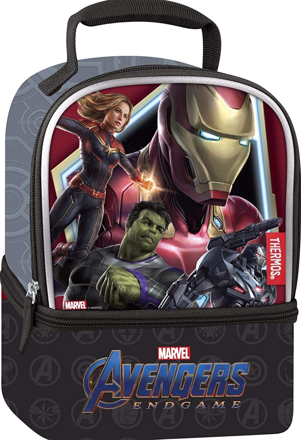 Thermos Licensed Dual Lunch Kit, Avengers Infinity War Movie