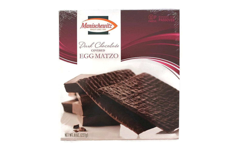 Manischewitz Passover Dark Chocolate Covered Egg Matzoh 8 oz. Box