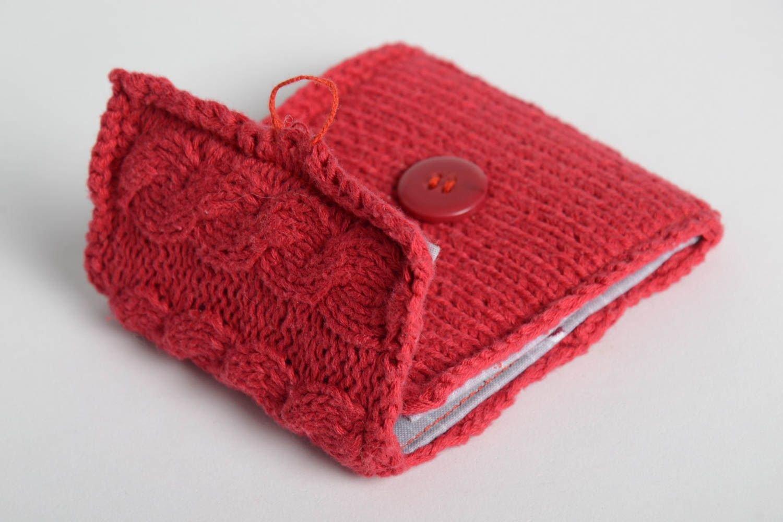 Monedero original tejido a mano accesorio de moda artesanal ...