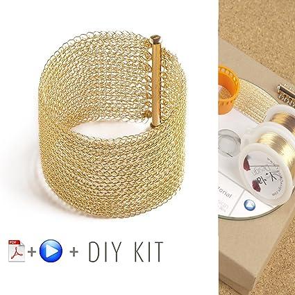 Amazon Bracelet Pattern Kit Wire Crochet Pattern Crochet