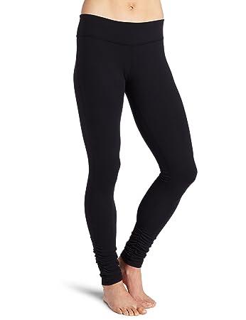 Amazon.com: Beyond Yoga Women's Side Gathered Long Legging, Black ...
