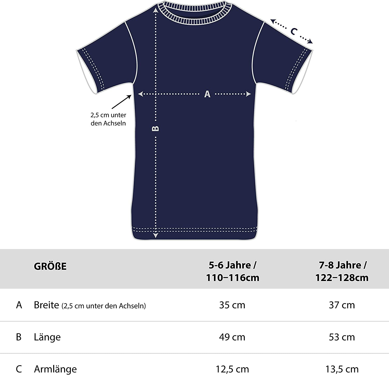 Shirtracer Einschulung und Schulanfang Jungen T-Shirt Ich Bin EIN Schulkind Feuerdrache