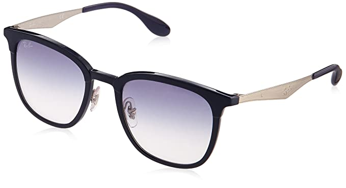 755a4a71c6 Amazon.com  Ray-Ban Plastic Unisex Sunglass Square