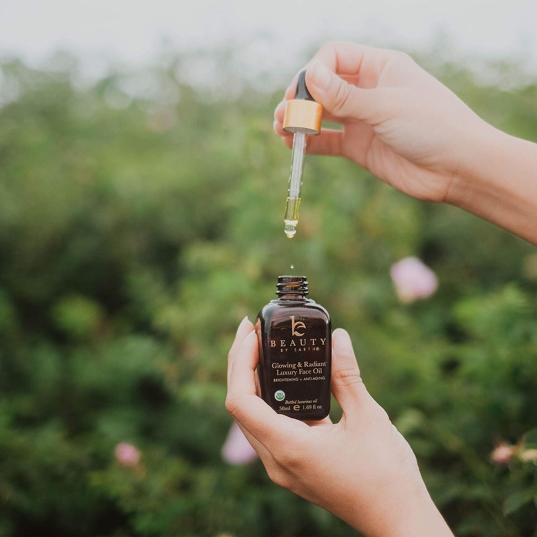 Organic Face Oil – Anti Aging Moringa Leaf Organic Jojoba Oil, Dark Spot Corrector Face Oils and Serums for Face Care, Face Moisturizer Anti Aging, Brightening Oil for Face 2 Bottles