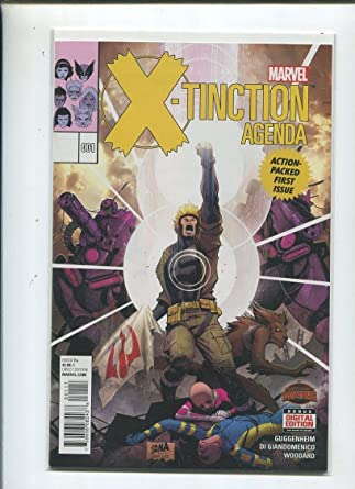 Amazon.com: X-Tinction Agenda #1 Action Packed First Issue ...