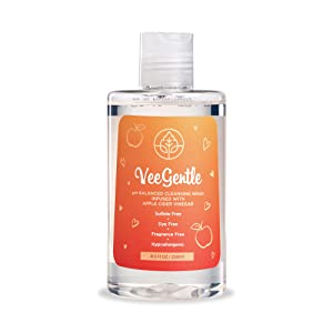 Veefresh - VeeGentle Feminine Wash pH Balance for Women Wash with Apple Cider Vinegar