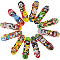 HEHALI 12 PCS Fingerboard Professional Mini Finger Skateboard for Kids Birthday Gifts