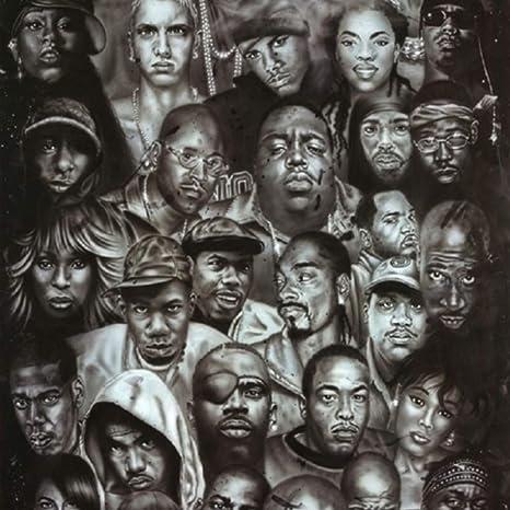 Legends Of Rap And Hip Hop Poster 24 X 36 Amazon De Küche Haushalt Wohnen