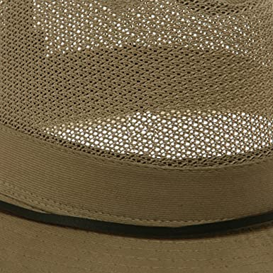 e7dab7536e2a38 DPC/Scalar UPF 50+ Brushed Twill Mesh Safari Hat-Camel M at Amazon Men's  Clothing store: Bucket Hats