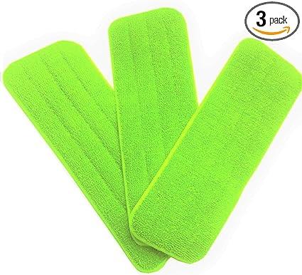 1pcs Microfibre Floor Mop Replacement Pad Cloths Mop Reusable Pad Soft Q5A7