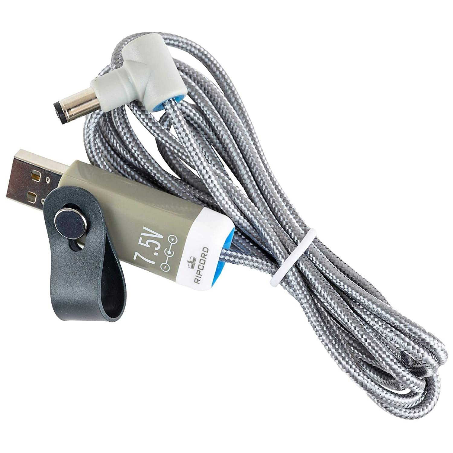 myVolts Ripcord USB to 7.5V DC Power Cable Compatible with The Brother PT-310 Label Printer