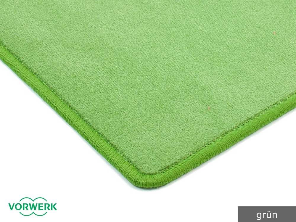 Teppichboden kinderzimmer vorwerk  Vorwerk Bijou grün der HEVO ® Teppich | Spielteppich nicht nur für ...