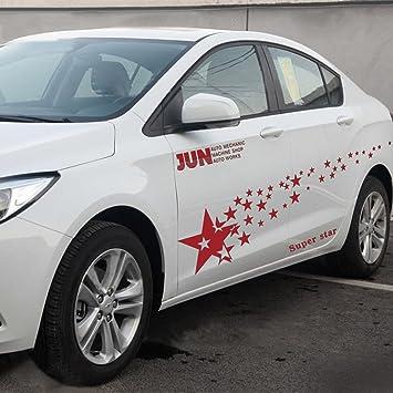 Erthome NEUF Racing Super Ciel étoilé Stickers Pour Voiture Auto Sport  Style Vinyle Voiture Autocollant De