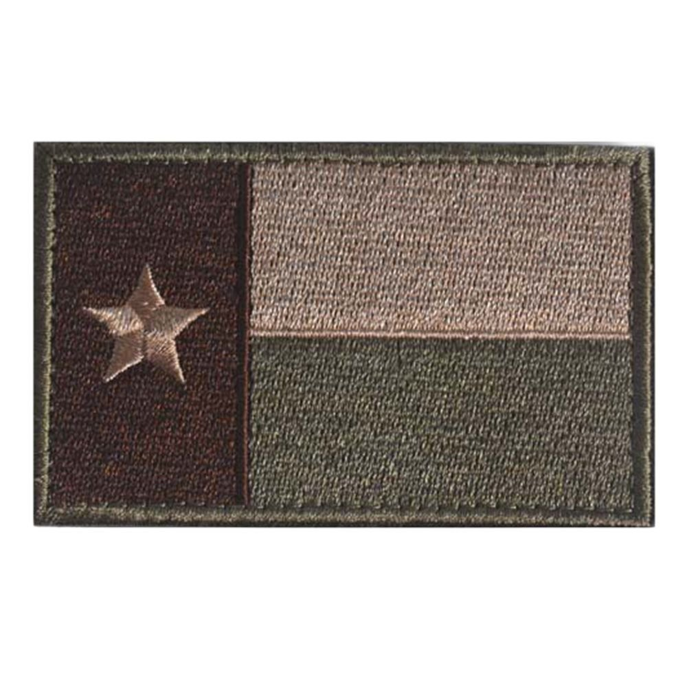 GGG Texas Flag Modern Swat Military Tactical Patch Tape Army Morale Badge Armband Green