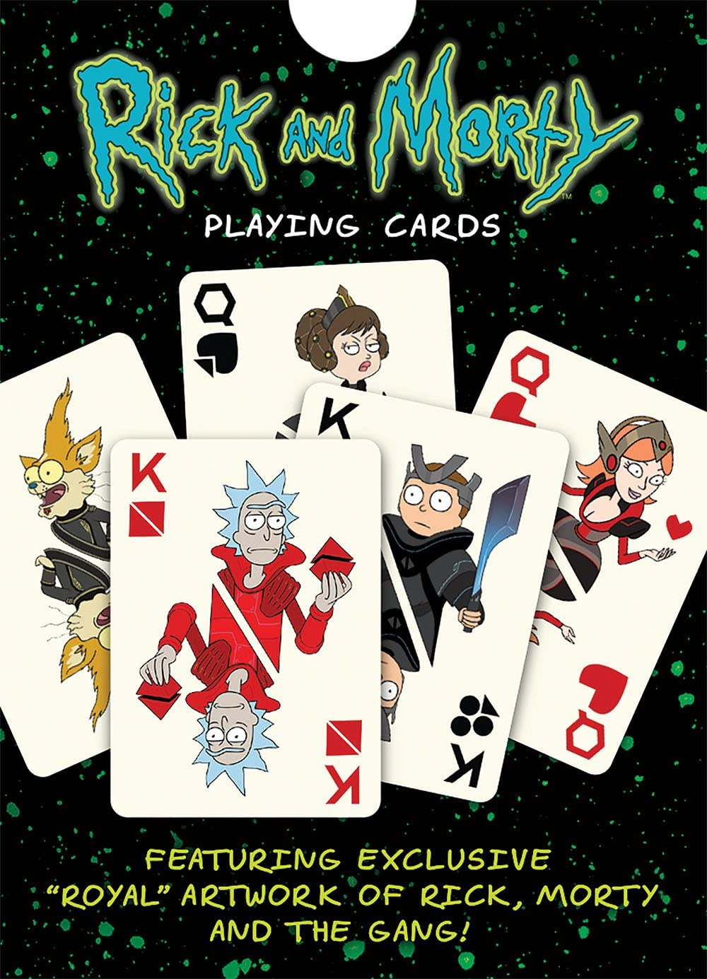 Playing Cards: Rick & Morty Cards: Amazon.es: Hogar