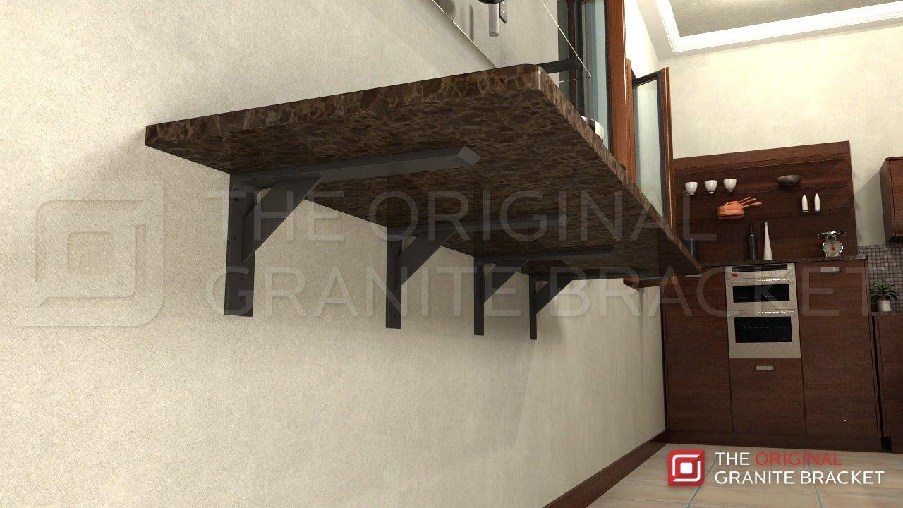 Shelf Bracket Steel 20x10