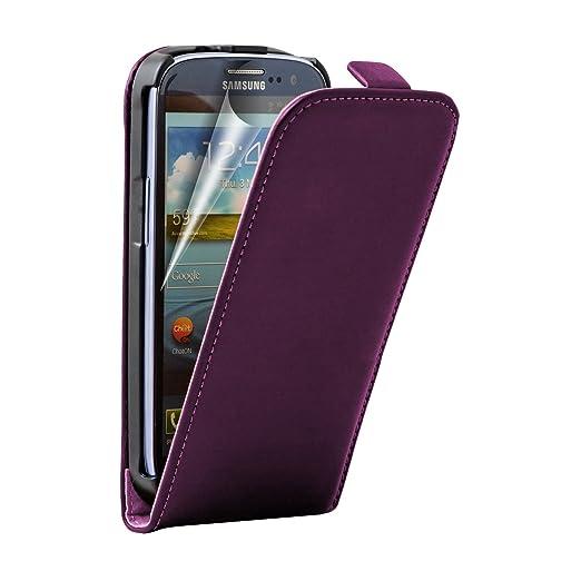 25 opinioni per Ultra Slim Viola Custodia in Pelle per Samsung Galaxy S3 (GT-i9300 / i9300i S3