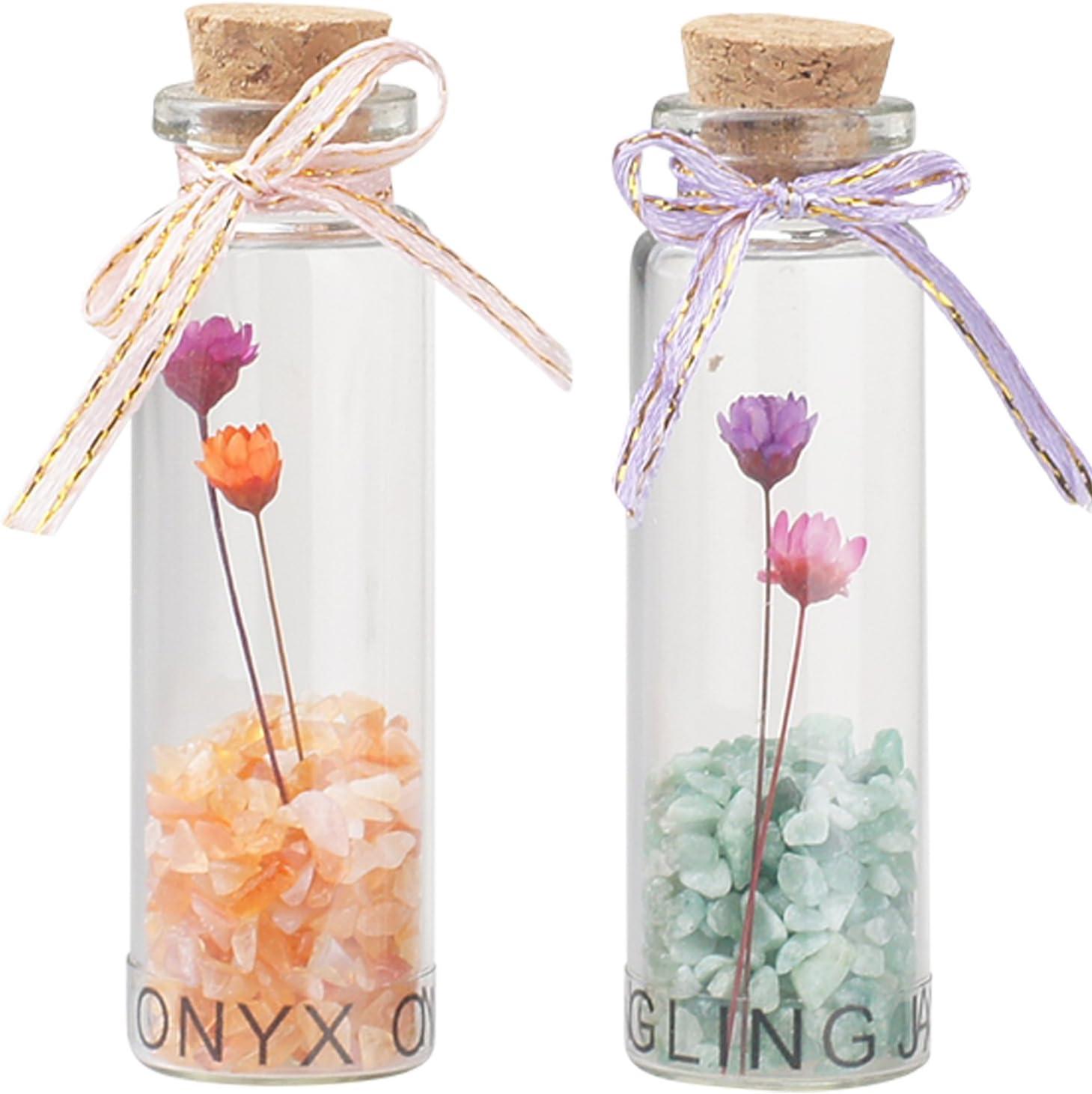 Colgante suerte que deseen botellas botellas de los amuletos decoración del hogar Gem Dongling Jade ágata piedra protección los amuletos