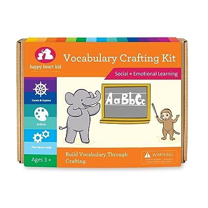 Vocabulary Crafting Kit For Children