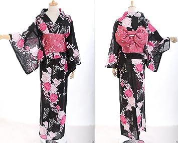 0db8d24017e0 K - 44 fleurs femme oRIGINAL kimono japonais yUKATA oBI kawaii story- ceinture