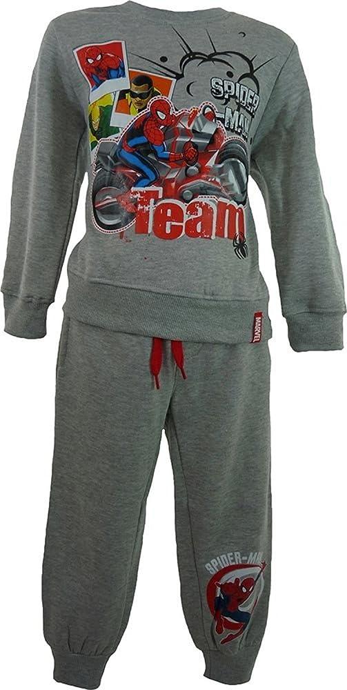 Spiderman - Chándal - para niño gris 7 años: Amazon.es: Ropa y ...