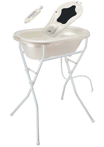 Baby Badewanneneinlage Schaumstoff f/ür Babys ab 6 kg und bis 65 cm Gr/ö/ße