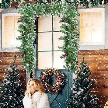 Light-Ren Guirnalda de Navidad para decoración de Interiores y ...
