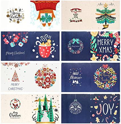 Amazon Com 8 Packs Diy 5d Diamond Painting Greeting Cards Kits For Adults Merry Christmas Card Mosaic Making Greeting Cards Art Craft Gifts For Family And Friends