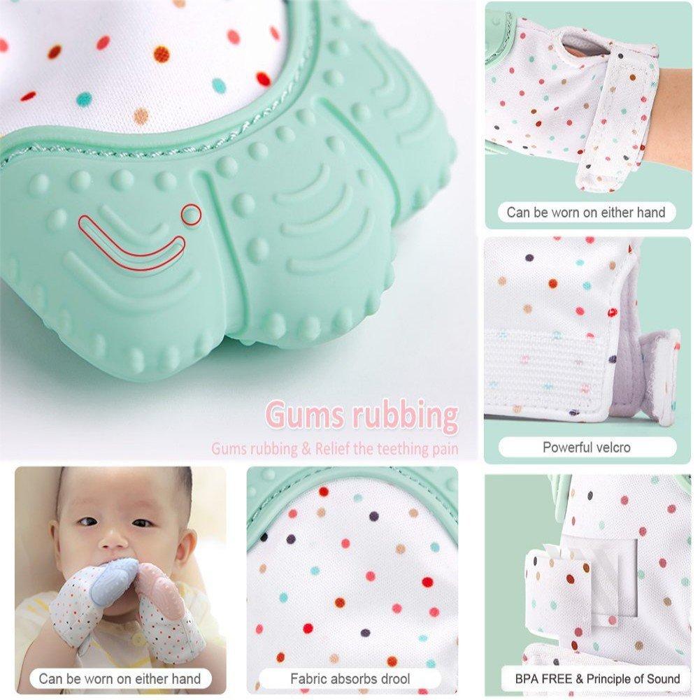 Amazon.com: Manoplas de Mordedor para Bebés, Baby self ...