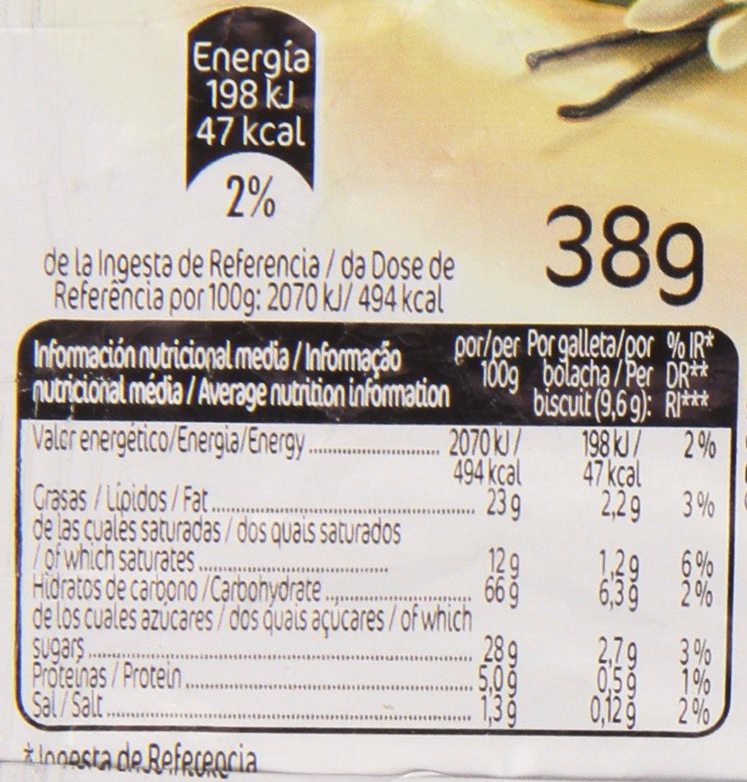 Cuétara - Bocaditos Vainilla - Sándwich de crema - 38 g: Amazon.es: Alimentación y bebidas