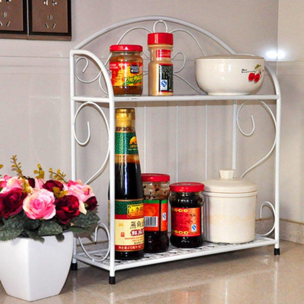30%OFF Multi-layer seasoned rack/bathroom rack/vanity/wash basin/Bathroom/toilet storage rack/Shelving Triangular -A