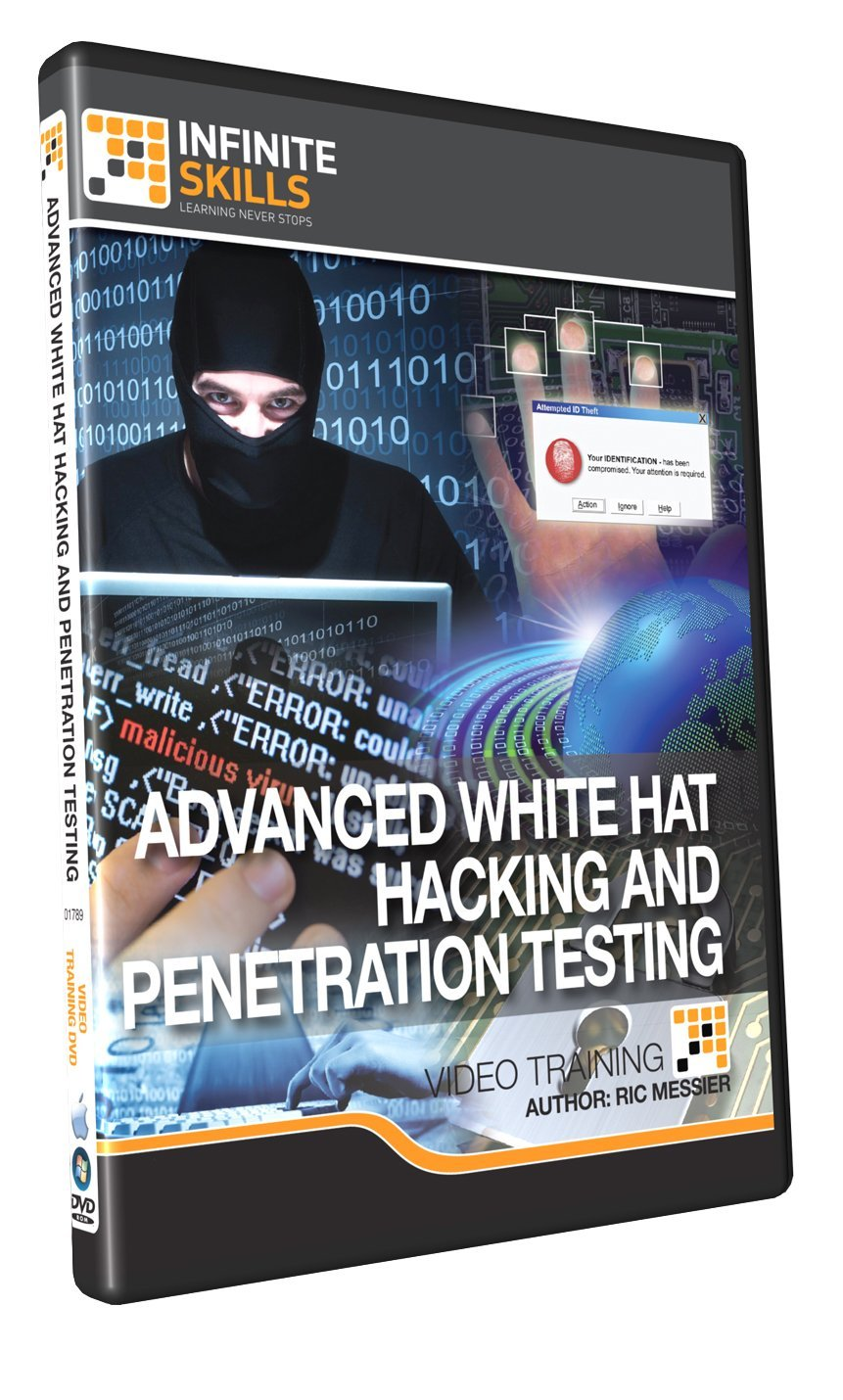 Learning advanced white hat hacking and penetration testing learning advanced white hat hacking and penetration testing training dvd baditri Image collections