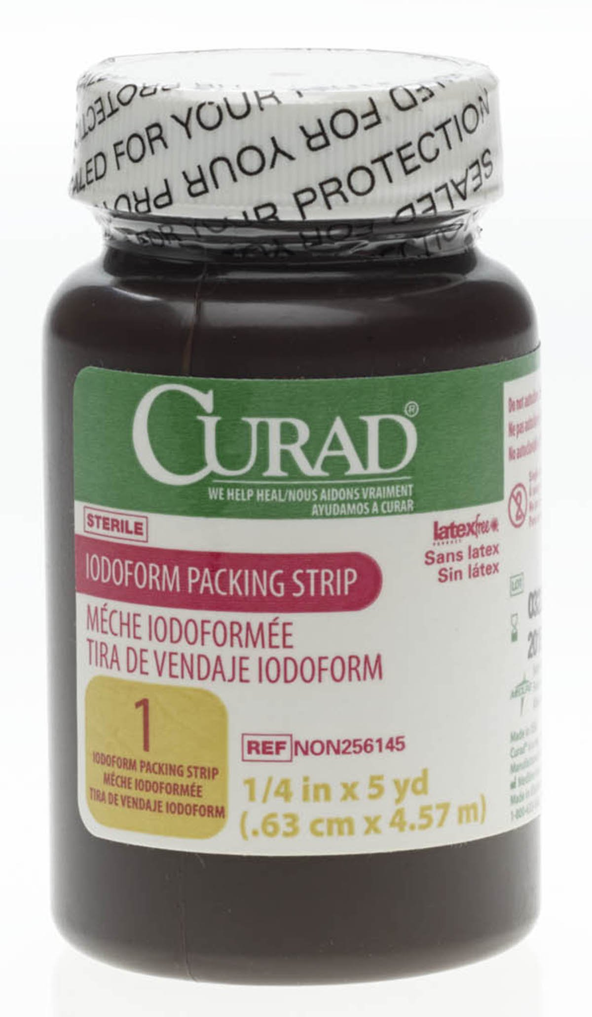 MEDLINE NON256145 NON256145H Curad Sterile Iodoform Packing Strips by Medline