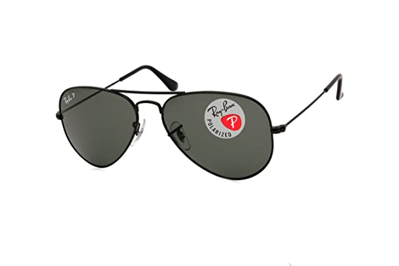e64bb1682f95a Ray-ban Matte Blk Aviator Sunglasses RB 3025 W3361 58mm +SD Glasses+Cleaning