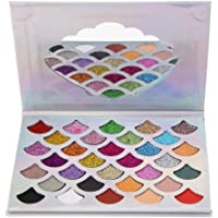MagiDeal Eyeshadow Palette Makeup - 32 Shades Glitter Matte Shimmer High Pigmented - Natural Eye Shadow Cosmetics