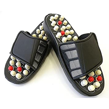 874ef57271f3 Acupressure Massage Slippers Leg Foot Massager  Amazon.in  Health    Personal Care