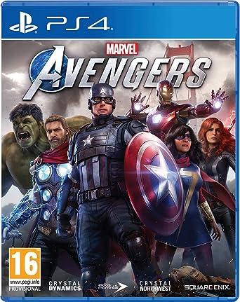 Todo para el streamer: Marvel's Avengers PS4