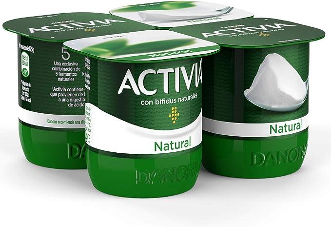 Activia - Yogur Danone Natural Pack 4 x 125 g