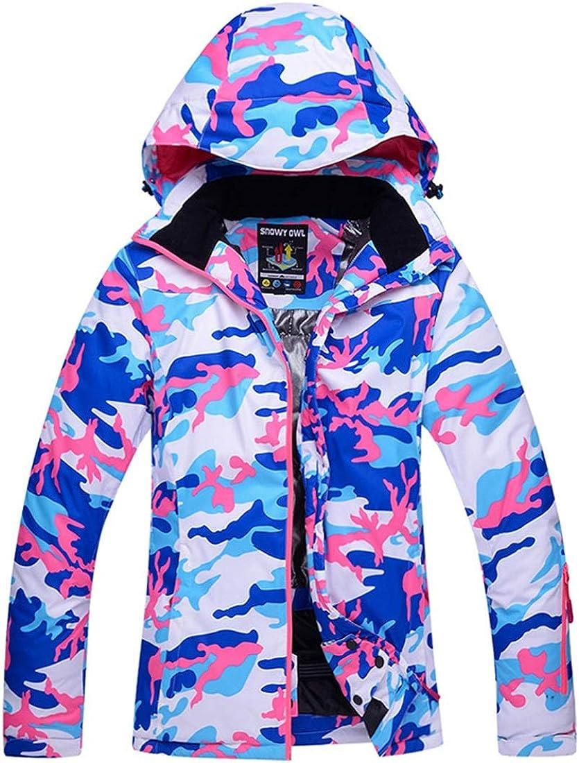Jhcpca アウトドアスノーボードウォームプルーフジャケット ブルー S