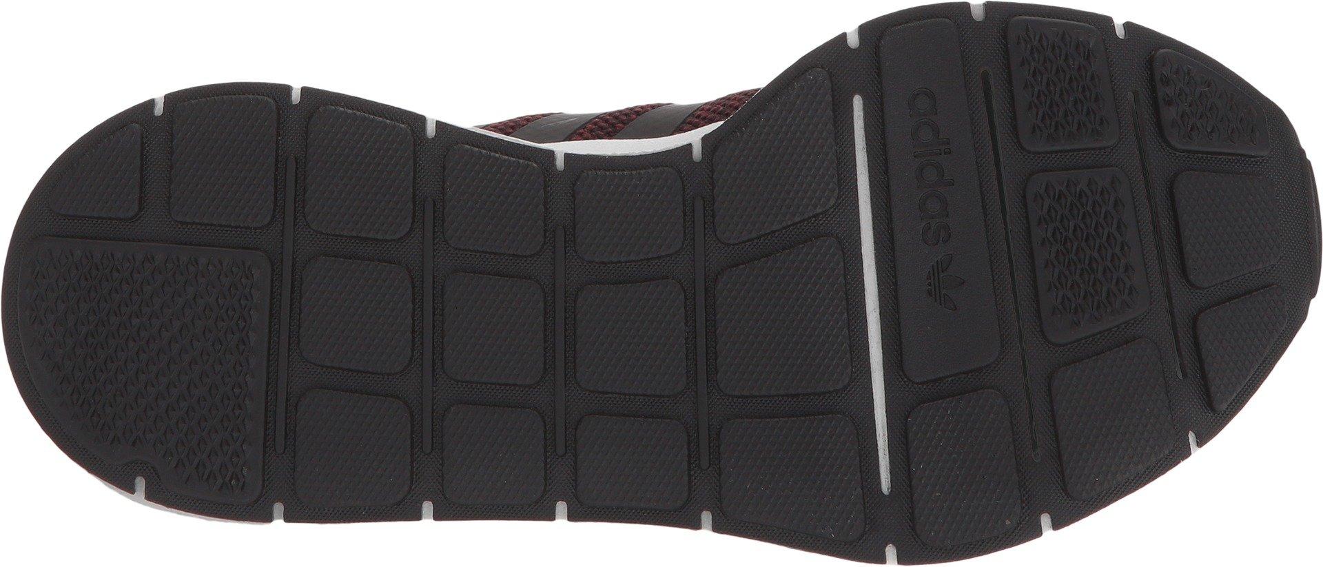adidas Originals Boys' Swift Running Shoe, Maroon/core Black/White, 6 M US Big Kid by adidas Originals