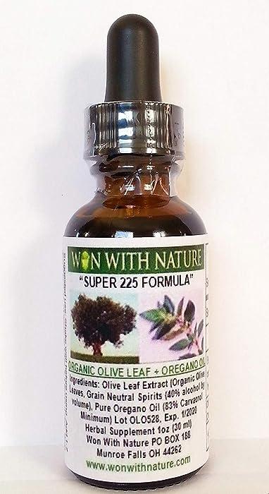 Super 225 Olive Leaf-Oregano Oil. Buy 2, Get 1 Free! 83% Carvacrol. 12+ Year Best Seller!